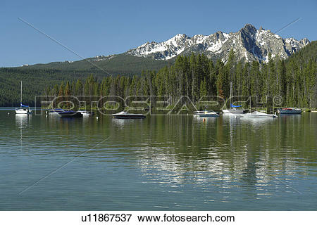 Picture of Stanley, ID, Idaho, Sawtooth National Recreation Area.