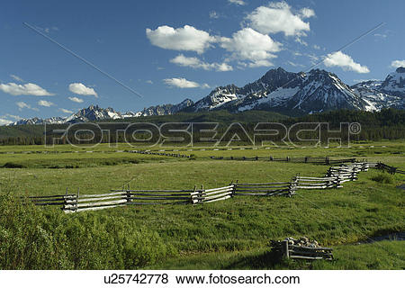 Pictures of Stanley, ID, Idaho, Sawtooth National Recreation Area.