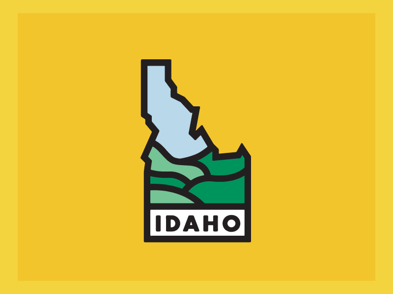 Idaho by Jason Oliveira on Dribbble.
