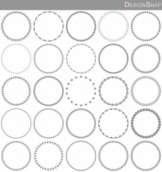 Circles, Gray and Art on Pinterest.