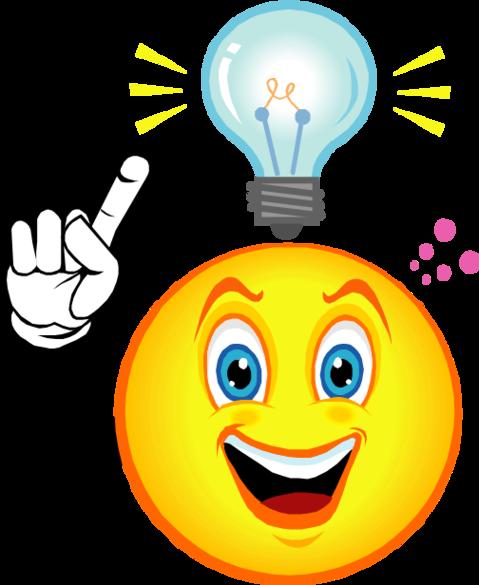 Light Bulb Idea Clip Art.