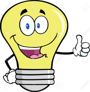 Free Clipart Lightbulb Idea.