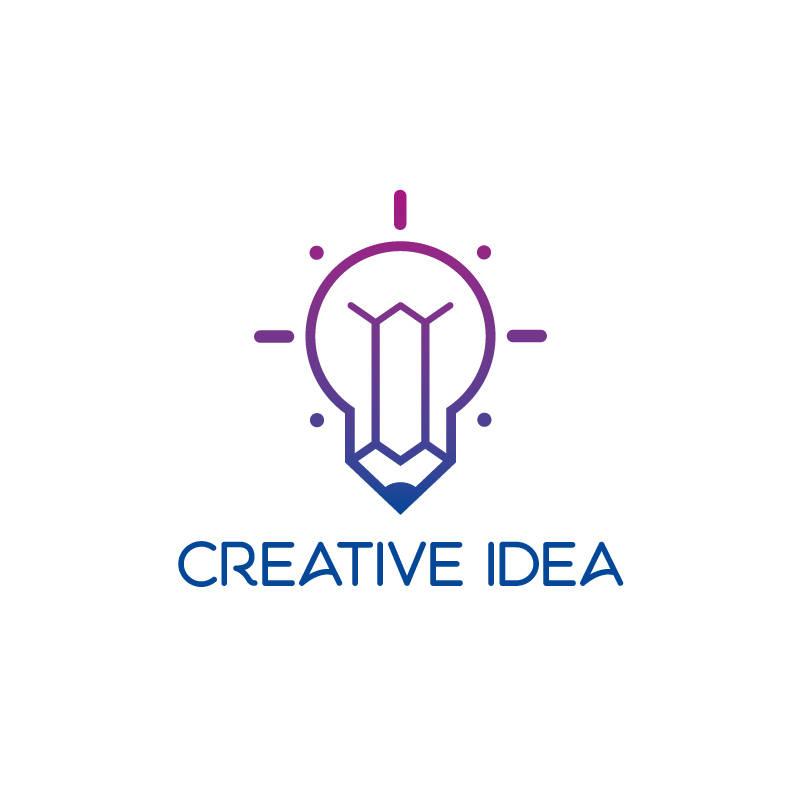Creative Idea Logo.