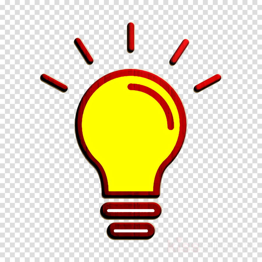 Idea icon SEO icon Lightbulb icon clipart.