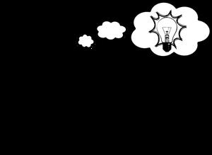 1018 free clipart light bulb idea.