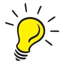 Light Bulb Idea Clipart.
