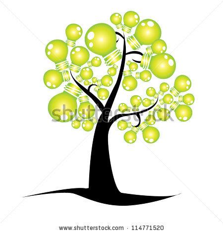 Idea Tree Stock Vector 114771520.