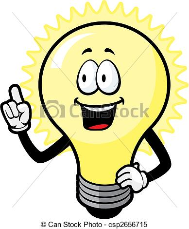 Free Clipart Light Bulb Idea.