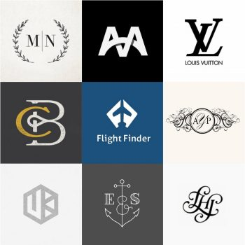 20 Creative Monogram Ideas for Design Inspiration.