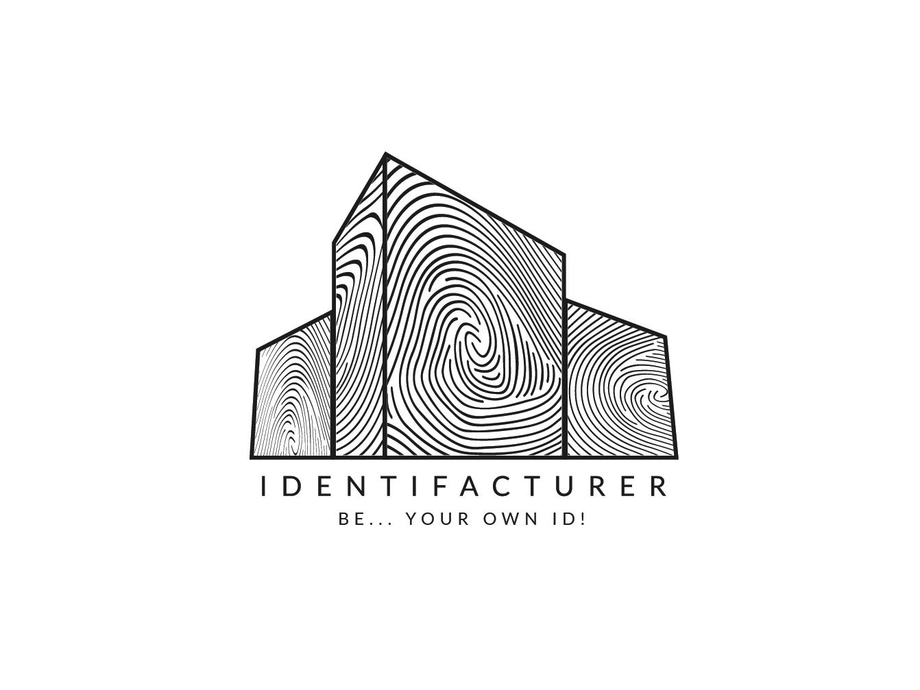 Logo concept for IDENTIFACTURER by Muhammad Armash Khalid on.