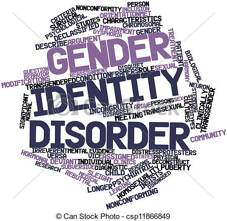 Drawing of Gender identity disorder.