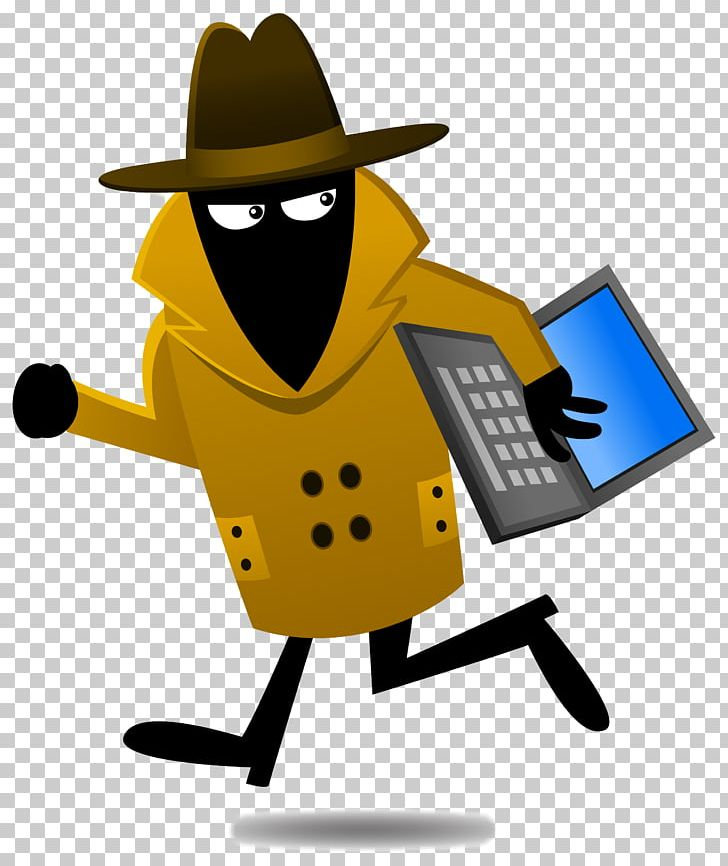 Identity Theft Data Breach Laptop Theft Crime PNG, Clipart, Cartoon.