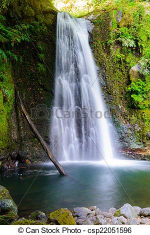 Stock Photographs of Waterval, Azoren.