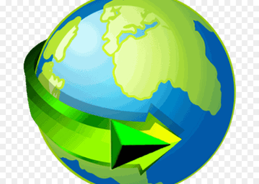 Green Earth png download.