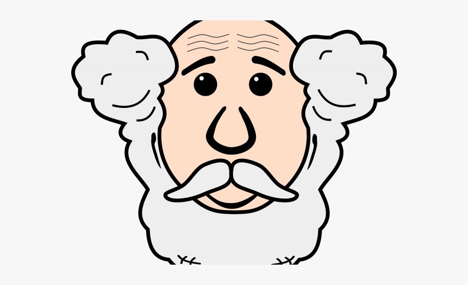 Face Clipart Grandpa.