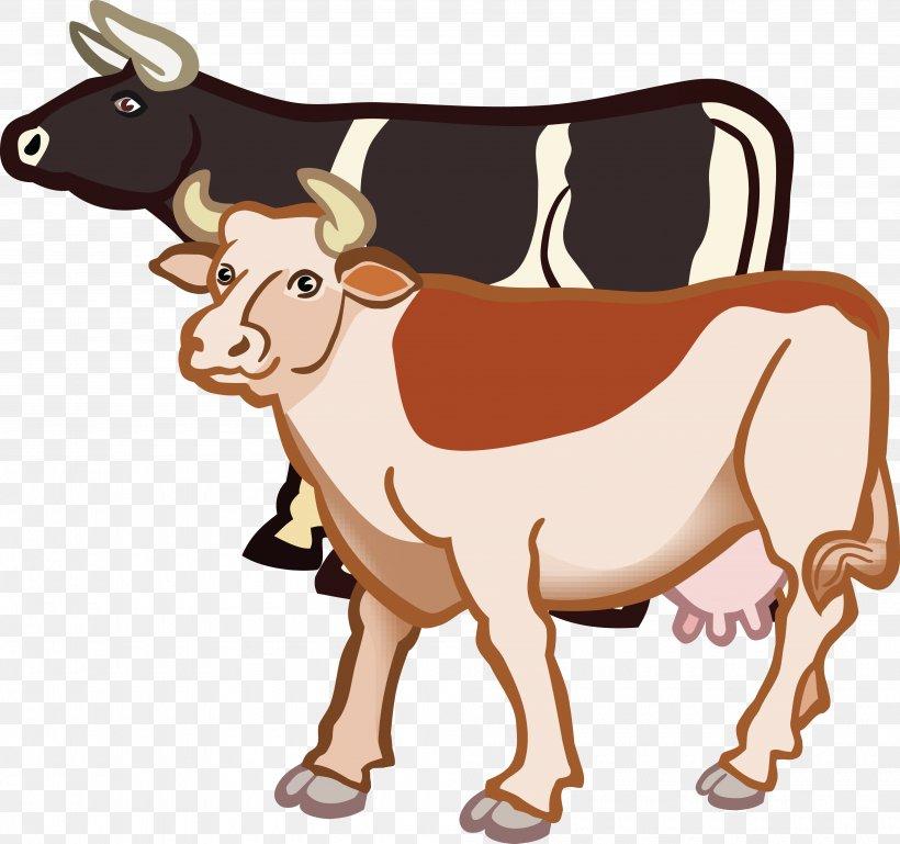 Texas Longhorn Taurine Cattle Holstein Friesian Cattle Clip.