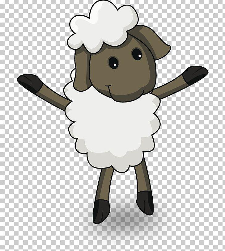 Sheep Cartoon Eid Al.