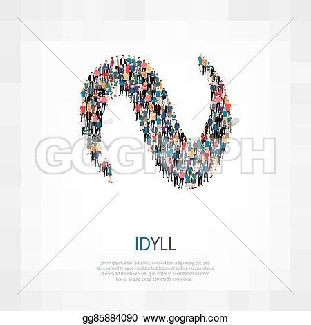 Idyll Clip Art.