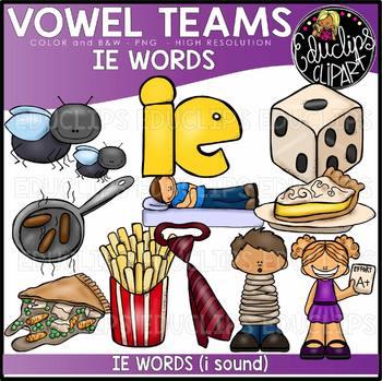 Long I Vowel Team \'ie\' (i sound).