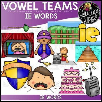 Long E Vowel Team \'ie\' (e sound).