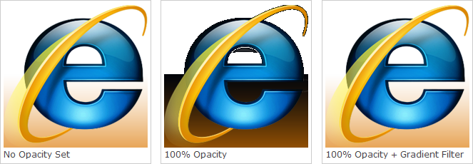 Solving IE7 & IE8 PNG Opacity Problems.