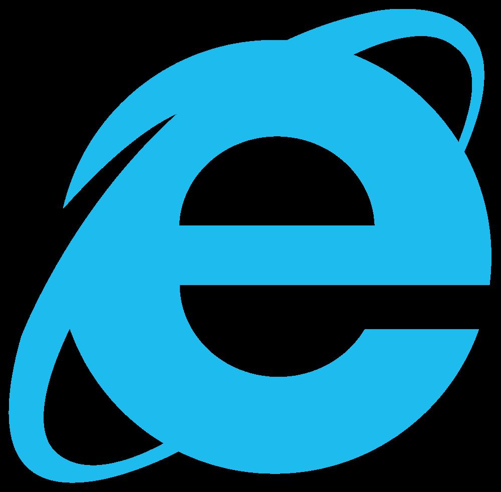 Internet Explorer Logo in 2019.