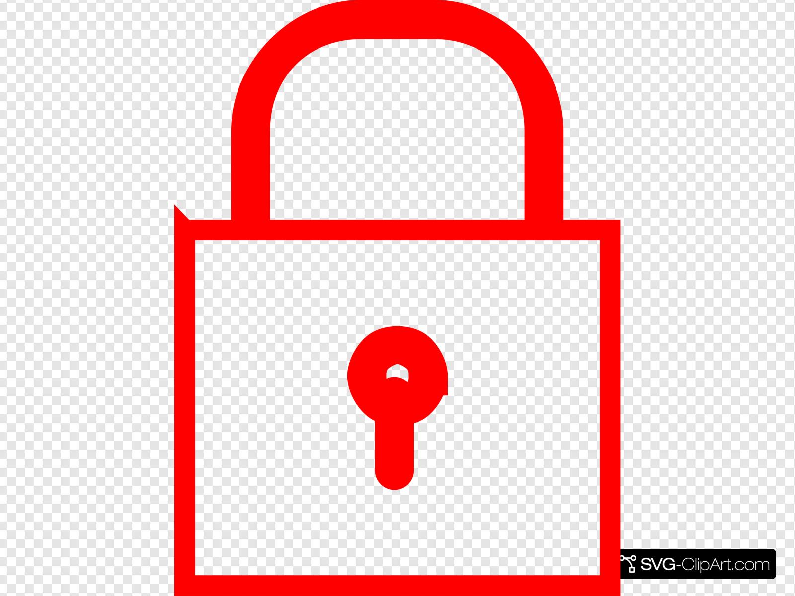 Lock Clip art, Icon and SVG.