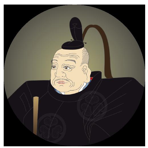 Shogun Tokugawa Ieyasu.