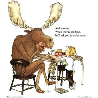 If You Give A Moose A Muffin in 2019.