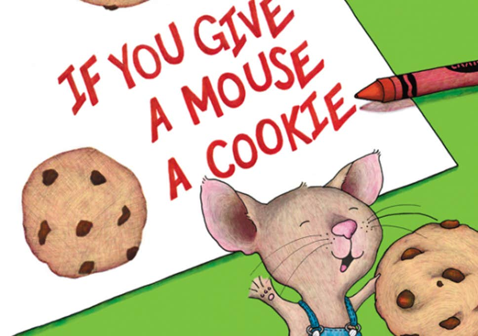The secret political message in 'If You Give a Mouse a Cookie'.