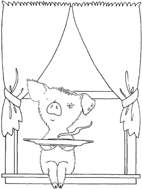 Free If You Give A Pig A Pancake Coloring Pages, Download.