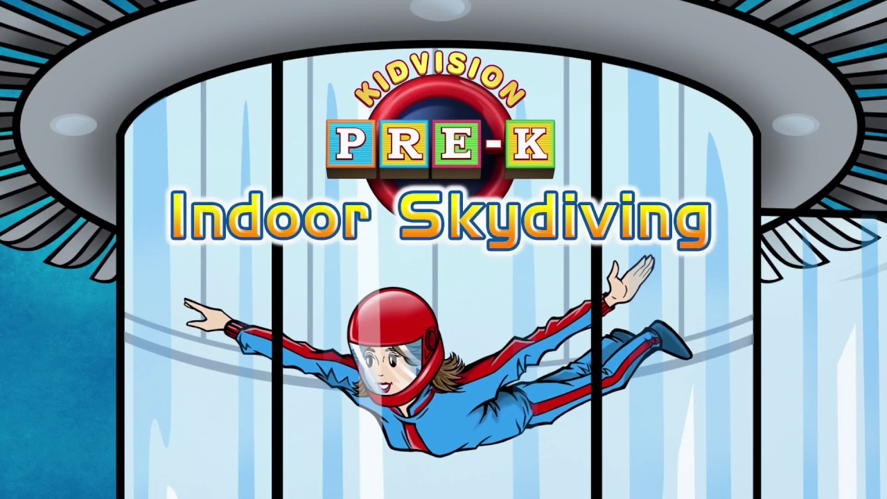 Indoor Skydiving Clipart.