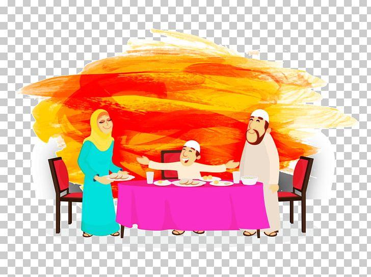 Iftar Illustration PNG, Clipart, Brush, Cartoon, Computer.