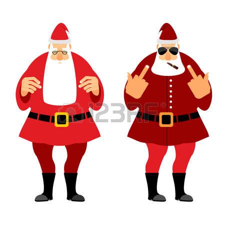 803 Bad Santa Stock Vector Illustration And Royalty Free Bad Santa.