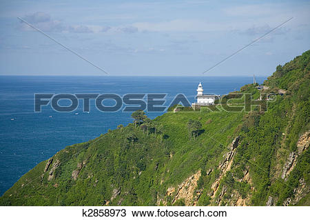 Stock Photo of Lighthouse Igueldo k2858973.