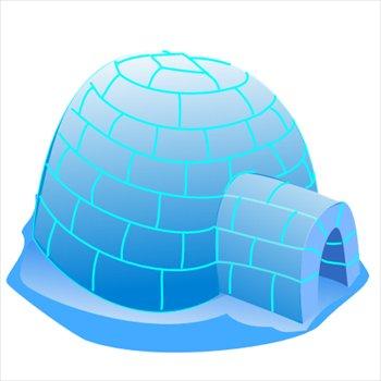 Free igloo Clipart.