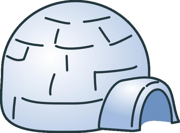Eskimo Igloo Clipart.