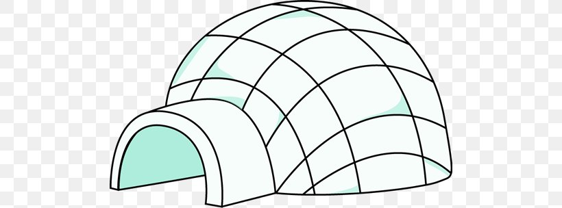 Igloo Clip Art, PNG, 500x304px, Igloo, Area, Black And White.