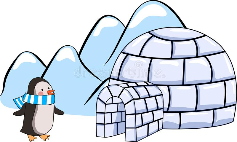 Cartoon Igloo Stock Illustrations.