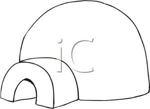 IGLOO CLIPART - 6px Image #13