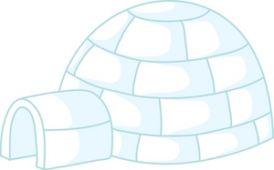 Best Igloo Clipart #11288.
