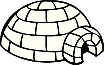 Best Igloo Clipart #11284.
