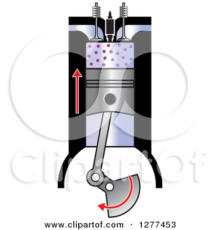 Clipart of a Compression Ignition Diagram 5.