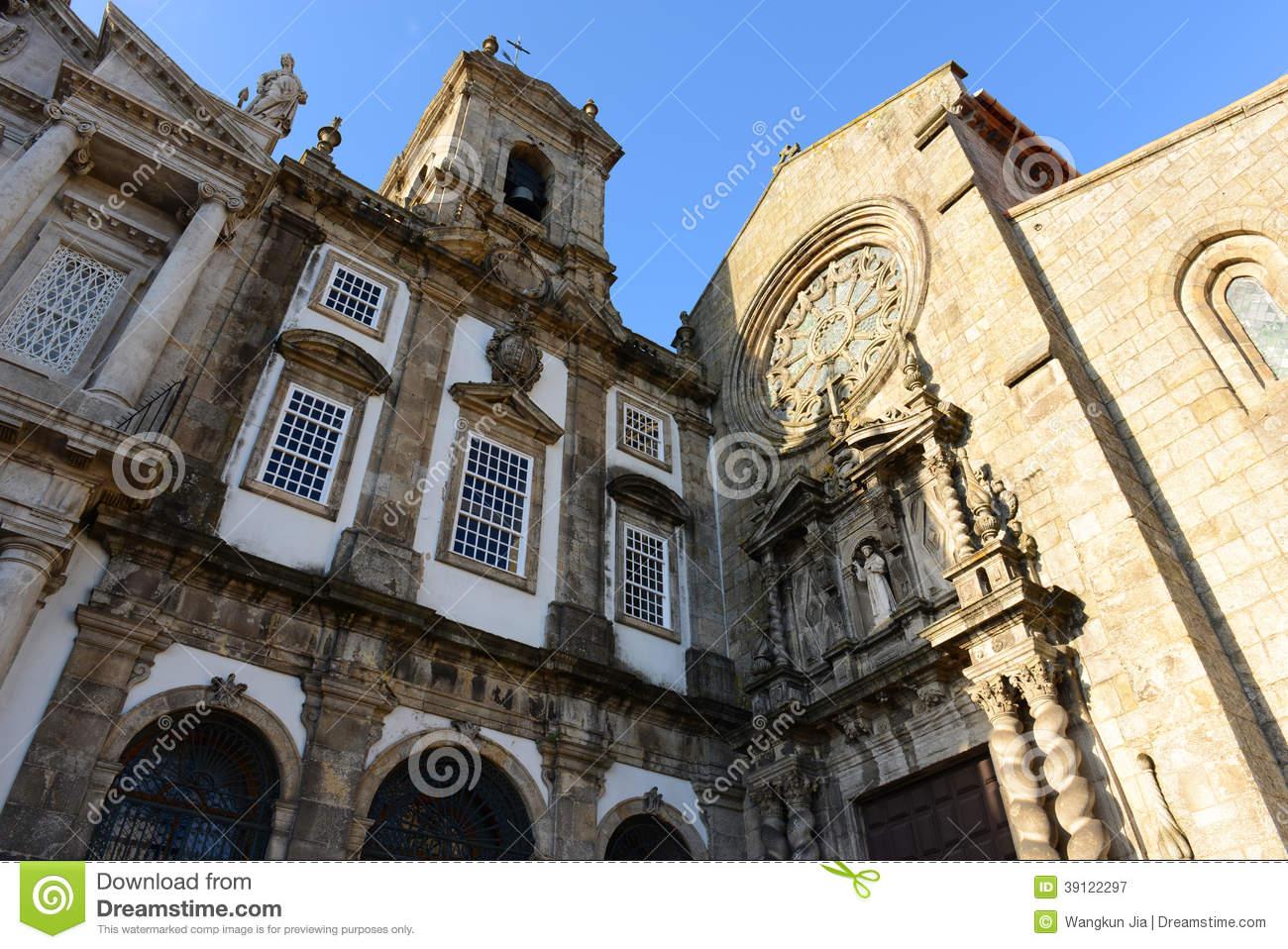 Igreja De São Francisco, Porto, Portugal Stock Photo.