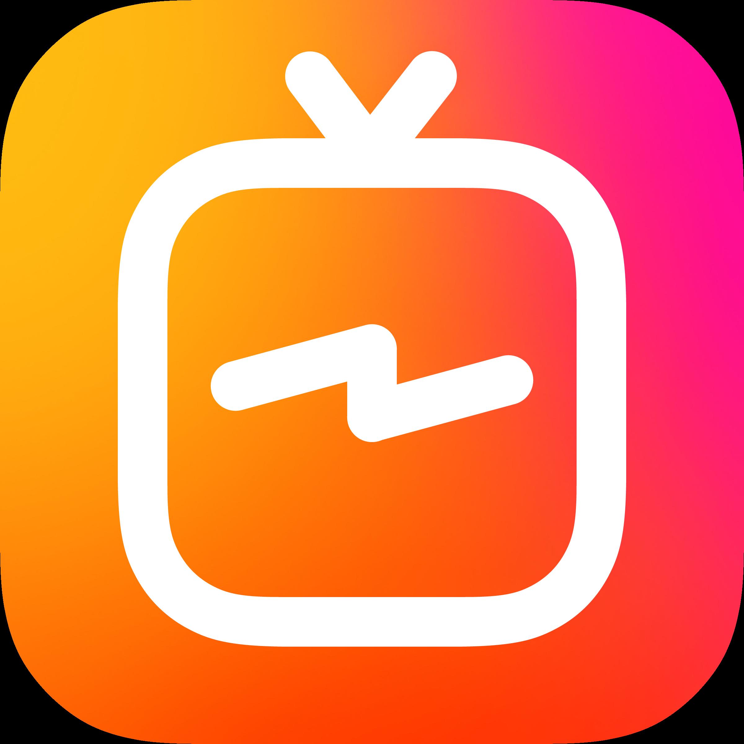 IGTV Logo Icon Transparent PNG PNG Transparent & SVG Vector.