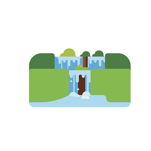 Iguacu Falls Clip Art, Vector Images & Illustrations.