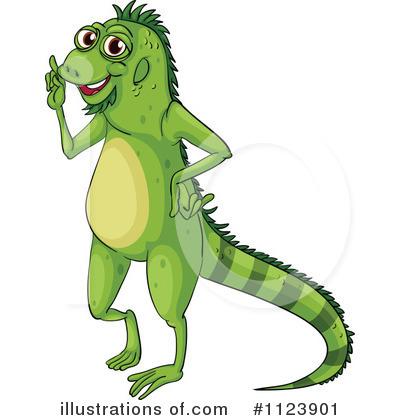 Iguana Clipart #1123901.