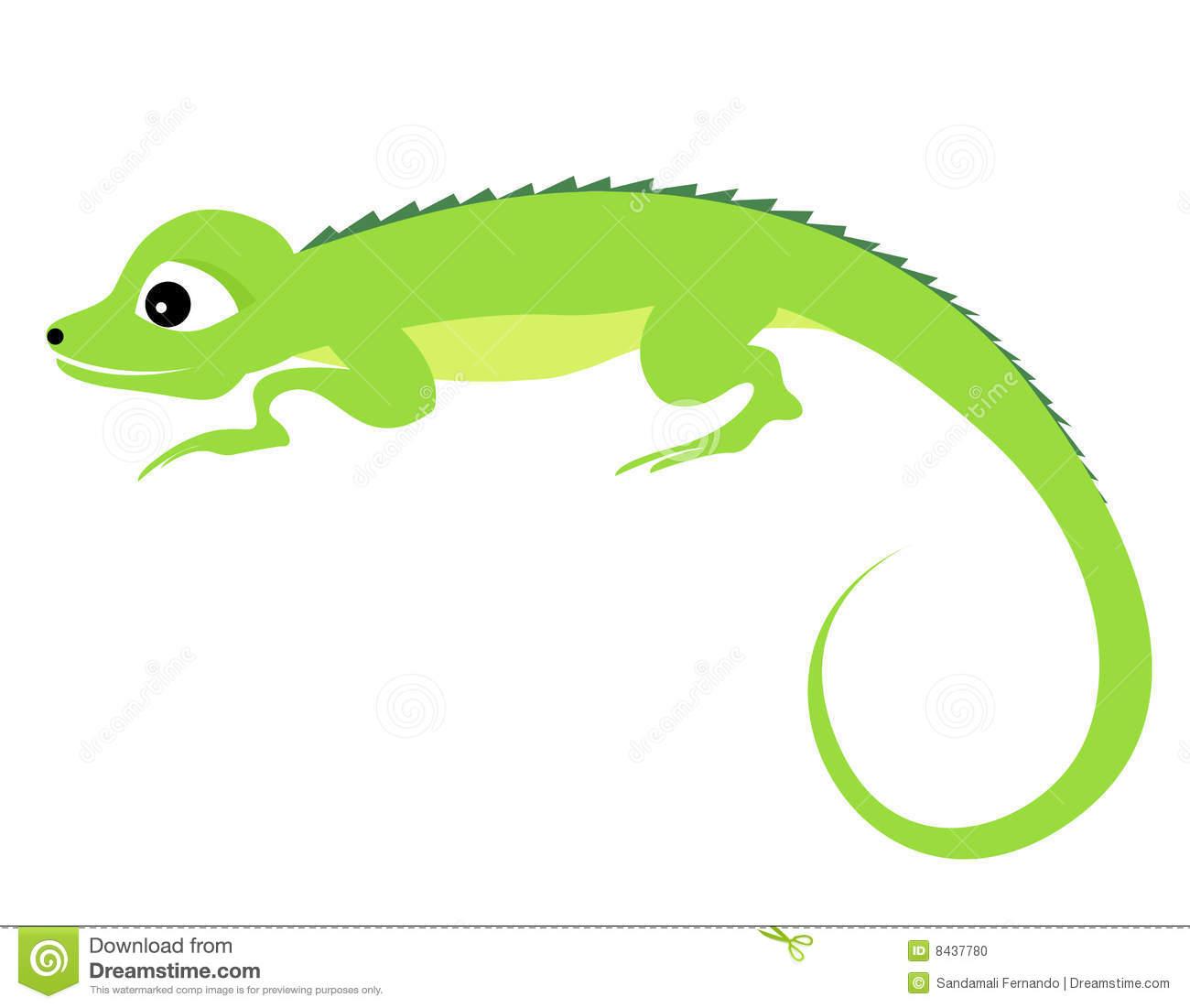 Iguana Clipart.
