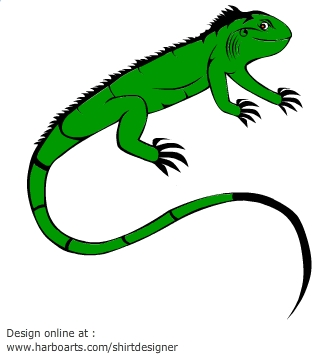 Clip art iguana clipart.