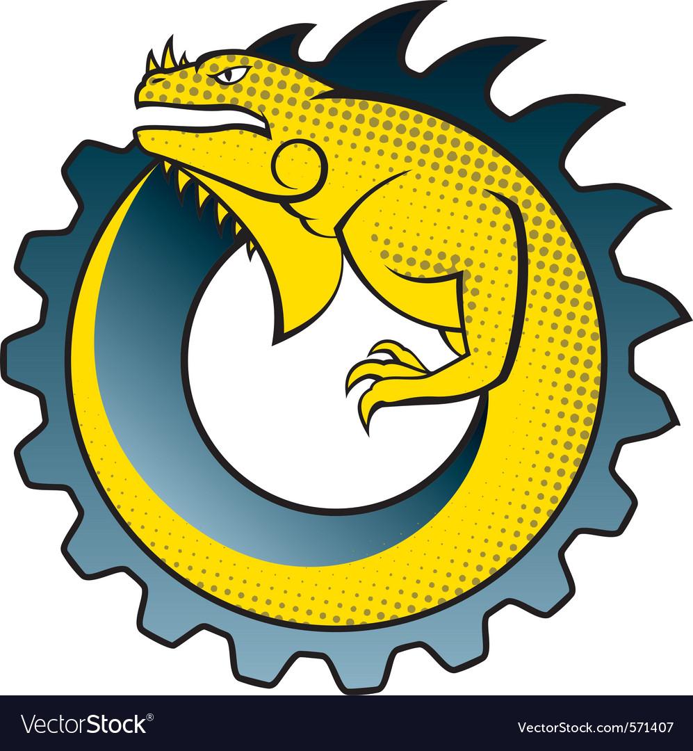 Iguana gear logo.